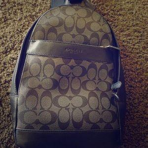 Coach over the shoulder travel bag